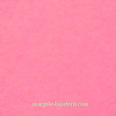 Fetru roz, 30x20cm, grosime 1mm 1 buc