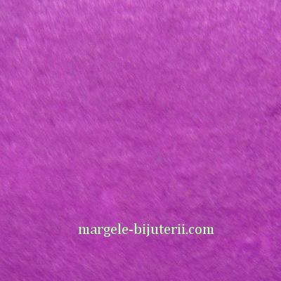 Fetru violet, 30x20cm, grosime 1mm 1 buc