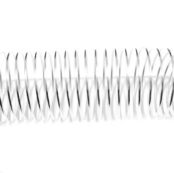 Sarma memorie inel argintie 19mm- 65-70 spire 1 buc