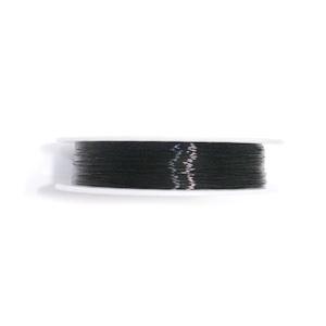 Sarma modelaj neagra 0.4mm 1 rola 15 m