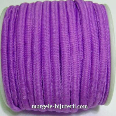 Ata elastica violet, 4mm, rola 8.5 metri 1 buc
