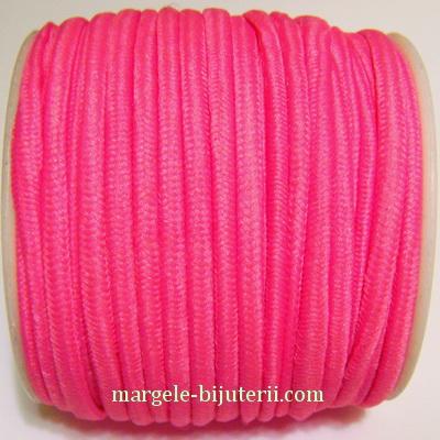 Ata elastica roz, 4mm, rola 8.5 metri 1 buc