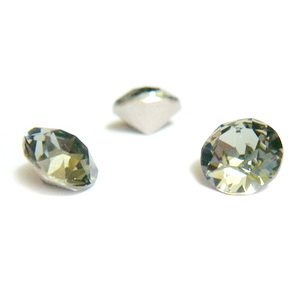 Swarovski Elements, Xirius Chaton 1088-Black Diamond SS29, 6mm 1 buc
