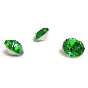 Swarovski Elements, Xirius Chaton 1088-Fern Green SS29, 6mm 1 buc