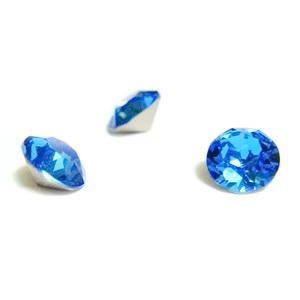Swarovski Elements, Xirius Chaton 1088-Sapphire SS29, 6mm 1 buc