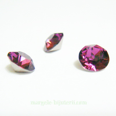 Swarovski Elements, Xirius Chaton 1088-Amethyst SS29, 6mm 1 buc