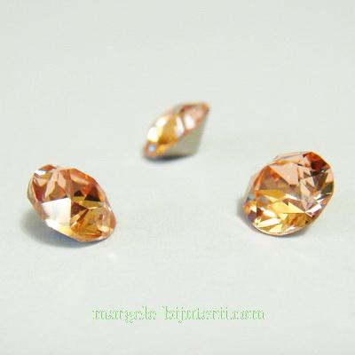 Swarovski Elements, Xirius Chaton 1088-Light Peach SS29, 6mm 1 buc