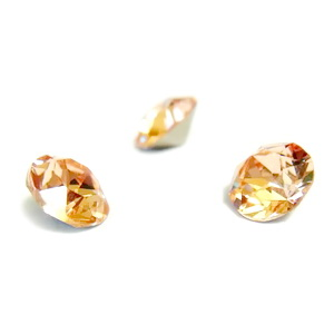 Swarovski Elements, Xirius Chaton 1088-Light Peach SS29, 6mm 1 buc