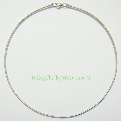 Baza colier, otel inoxidabil, cu inchizatoare, 140x2mm 1 buc