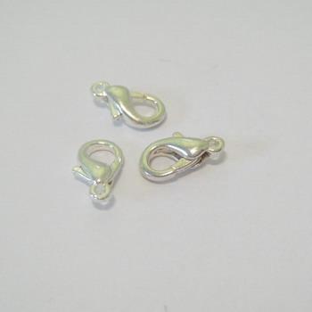 Inchizatoare placata cu argint, 1 cm 1 buc