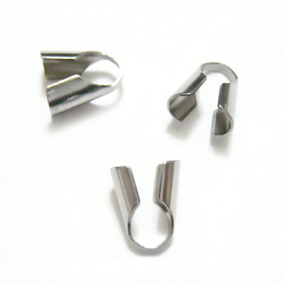 Capat prindere snur, otel inoxidabil, 9.5x5mm 1 buc