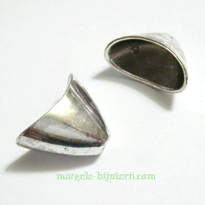 Capac tibetan, plat, 20x11x13mm 1 buc