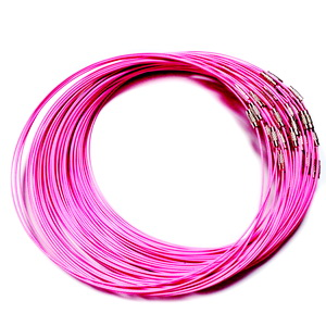 Baza colier roz intens, cu inchizatoare 1 buc