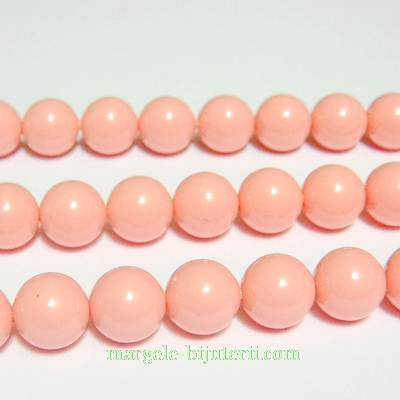 Swarovski Elements, Pearl 5810 Crystal Pink Coral 8mm 1 buc