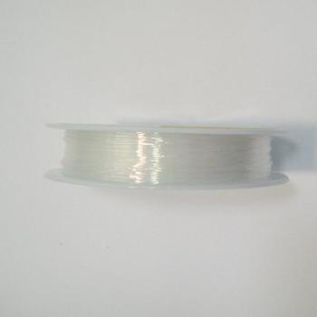 Fir elastic transparent 0.5mm-rola 20 metri 1 buc