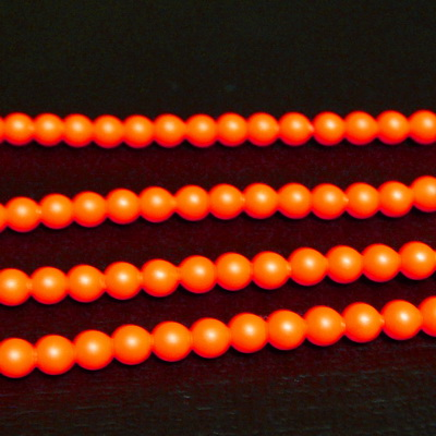 Swarovski Elements, Pearl 5810 Crystal Neon Orange 3mm 1 buc