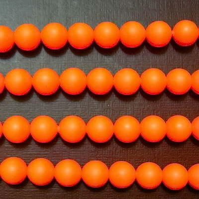 Swarovski Elements, Pearl 5810 Crystal Neon Orange 6mm 1 buc