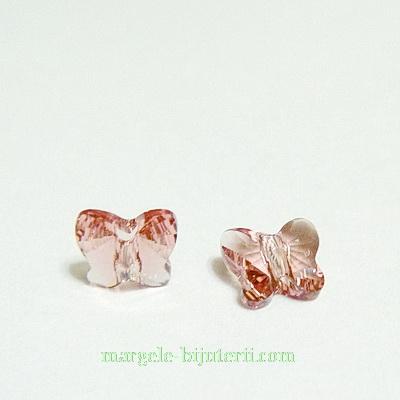 Swarovski Elements, Butterfly 5754-Blush Rose, 6 mm 1 buc