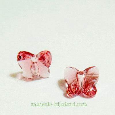 Swarovski Elements, Butterfly 5754-Blush Rose, 8 mm 1 buc
