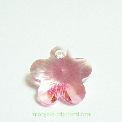 Swarovski Elements, Flower 6744-Light Rose, 14mm 1 buc