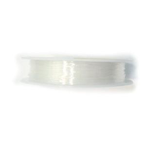 Fir elastic transparent 0.8mm, rola 7.5 metri 1 buc