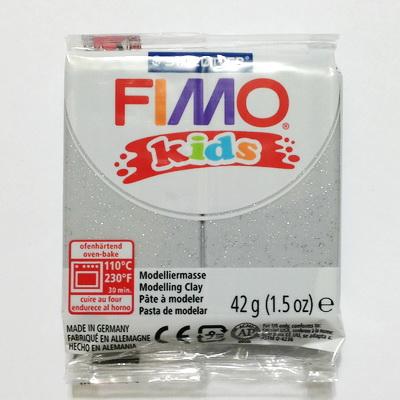 Fimo clay kids, 42, cod cul 812 argintiu 1 buc