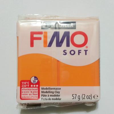 Plastelina fimo soft 57g cod cul 41-sunny orange 1 buc