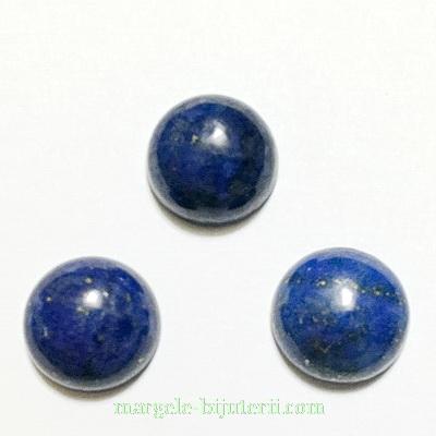 Cabochon Lapis Lazuli , 12x6mm  1 buc