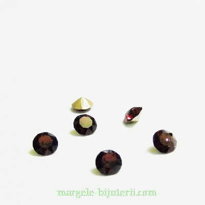 Swarovski Elements, Xirius Chaton 1088 PP32 Burgundy 4mm 1 buc