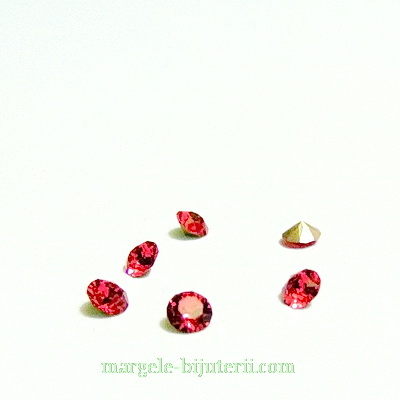 Swarovski Elements, Xirius Chaton 1088 PP32 Indian Pink 4mm 1 buc