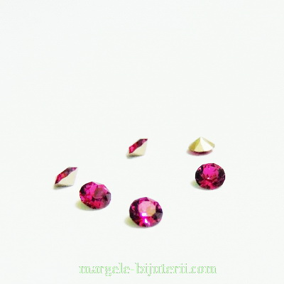 Swarovski Elements, Xirius Chaton 1088 PP32 Fuchsia 4mm 1 buc