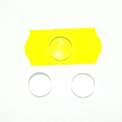 Cabochon sticla transparenta, 8x3mm 1 buc