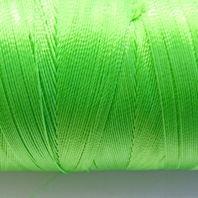 Ata polyester, verde deschis, 0.33 mm 5 m