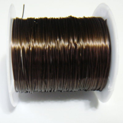Guta elastica maro 0.8 mm, bobina 10.5 metri 1 buc
