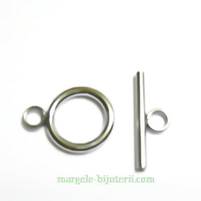 Inchizatoare otel inoxidabil 304, inel si tija, 18x13x2mm 1 set