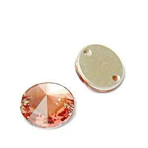 Swarovski Elements, Link 3200, Blusz Rose, 12mm 1 buc