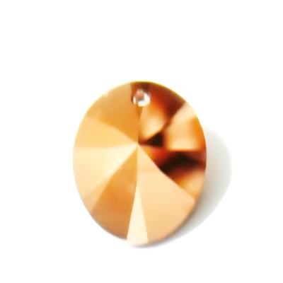 Swarovski Elements, 6028, Crystal Rosegold, 18x14mm 1 buc