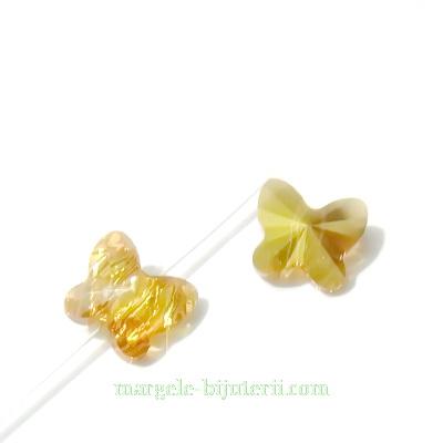 Swarovski Elements, Butterfly 5754-Crystal Metsunsh, 6 mm  1 buc