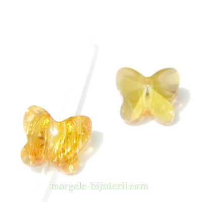 Swarovski Elements, Butterfly 5754-Crystal Metsunsh, 8 mm  1 buc