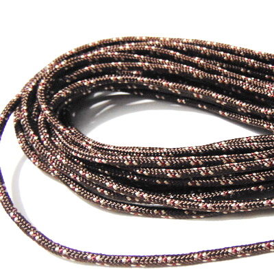 Snur paracord, maro, 4mm 1 m
