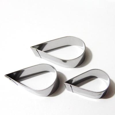 Set 3 cuttere metalice pt. Fimo, 8724-07, lacrima 1 buc