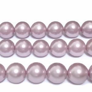 Perle stil Mallorca, aurii, semigaurite, 12mm 1 buc