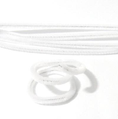 Sarma modelaj 1mm invelit in puf alb, 30x0.6 cm 1 buc