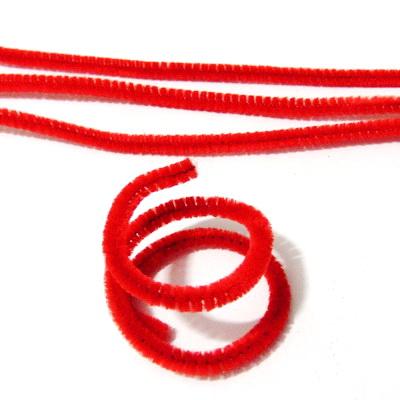 Sarma modelaj 1mm invelit in puf rosu, 30x0.6 cm 1 buc