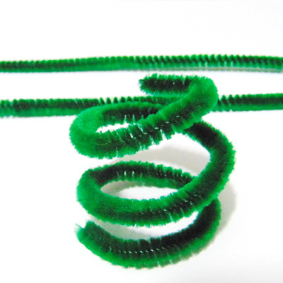 Sarma modelaj 1mm invelit in puf verde, 30x0.6 cm 1 buc