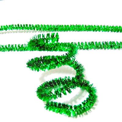 Sarma modelaj 1mm invelit in lurex verde, 30x0.6 cm 1 buc