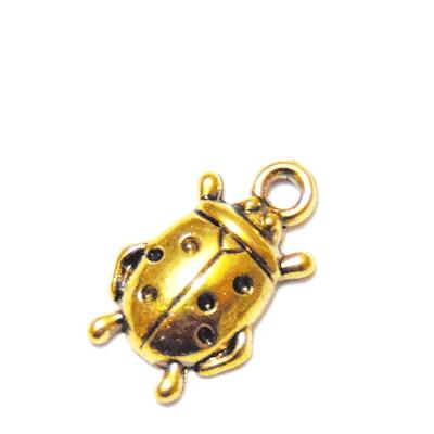 Pandantiv auriu-antic, gargarita, 18x10mm 1 buc