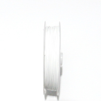 Sarma siliconata alba, 0.45mm-rola cca 50m 1 buc