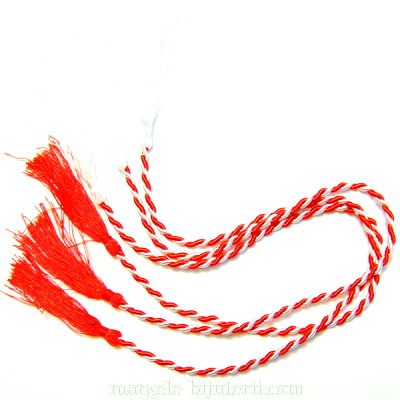 Snur martisor 54 cm, grosime 3mm 1 buc