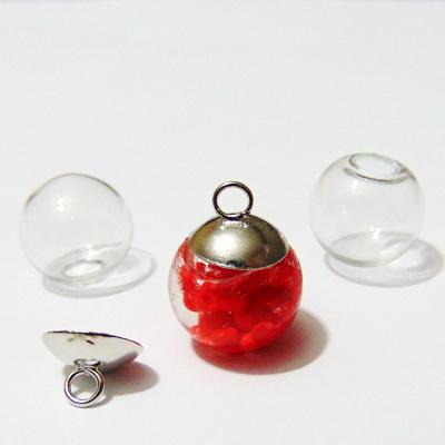 Glob din sticla, transparent, 14mm(doar globul) 1 buc